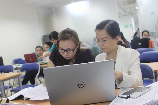 Trung tâm gia sư kế toán trưởng lớp học kế toán tổng hợp thực hành