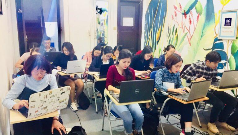 Lớp học khai báo hải quan điện tử tại trung tâm VinaTrain (Nguồn:Vinatrain)